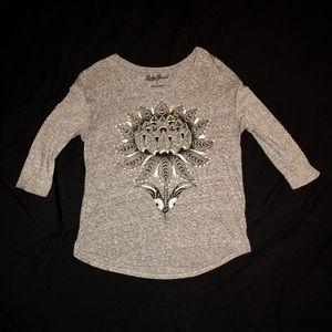 Lucky Brand 3/4 Sleeve Shirt